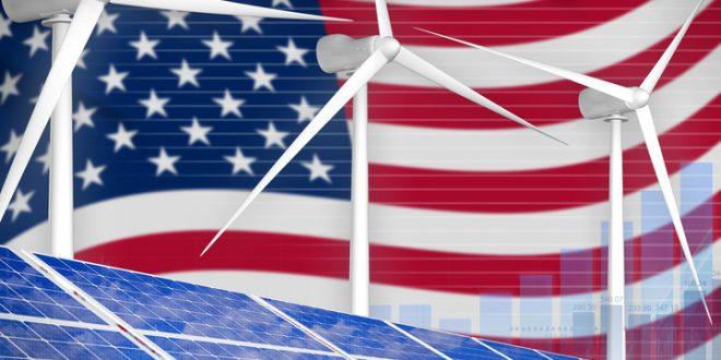 70% ظرفیت تولید برق در آمریکا توسط انرژی های خورسیدی و بادی در سال 2021