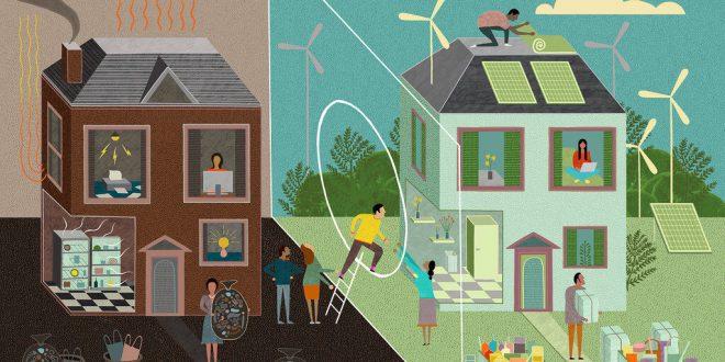 مدیریت مصرف انرژی در جهان؛ خانه های سبز