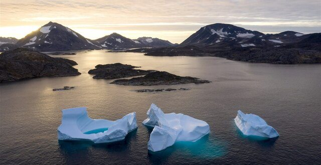 ذوب شدن یخها و افزایش ۱۸ متری سطح جهانی دریا