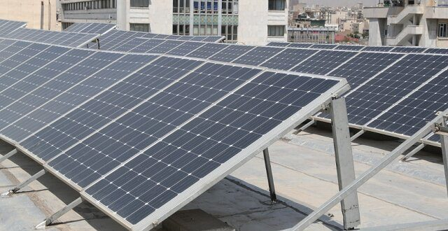 انرژی خورشیدی، یاور بانک ملی ایران در روزهای اوج مصرف برق