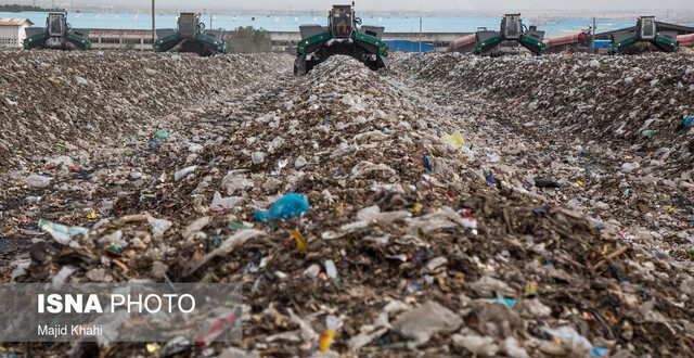 روزانه ۵۸ هزار تن پسماند تولید و غیر اصولی دفن میکنیم