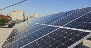 افتتاح دومین نیروگاه خورشیدی در منطقه ۱۷