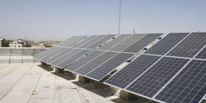 نخستین نیروگاه خورشیدی روی کانال پساب در کشور به بهرهبرداری رسید