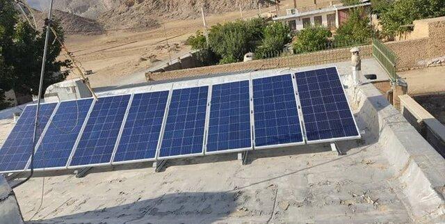 تأمین برق ۶ پاسگاه محیط بانی همدان با انرژی خورشیدی